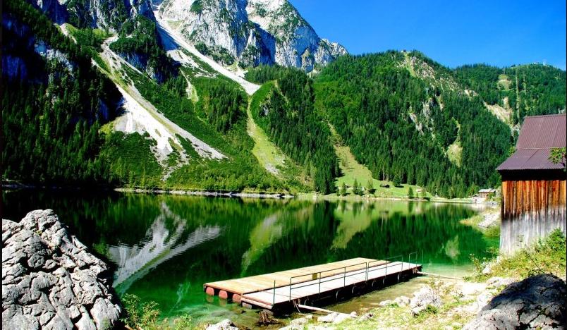 озеро гозау дахштайн зальцкаммергут