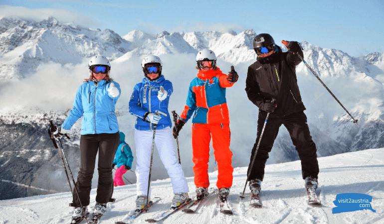Лучшие горнолыжные курорты Австрии - рейтинг,