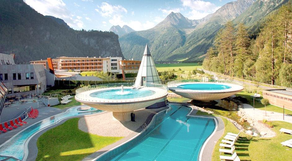 аквадом термы в австрии