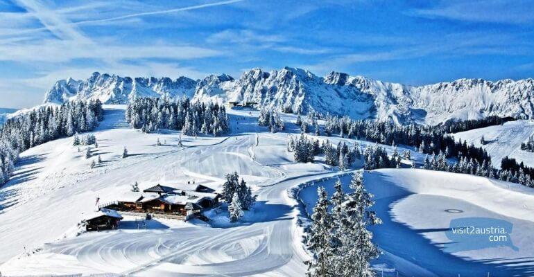 Склоны горнолыжного курорта Вильдер Кайзер - Бриксенталь