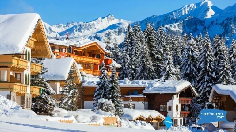 Вестендорф горнолыжный курорт Австрия