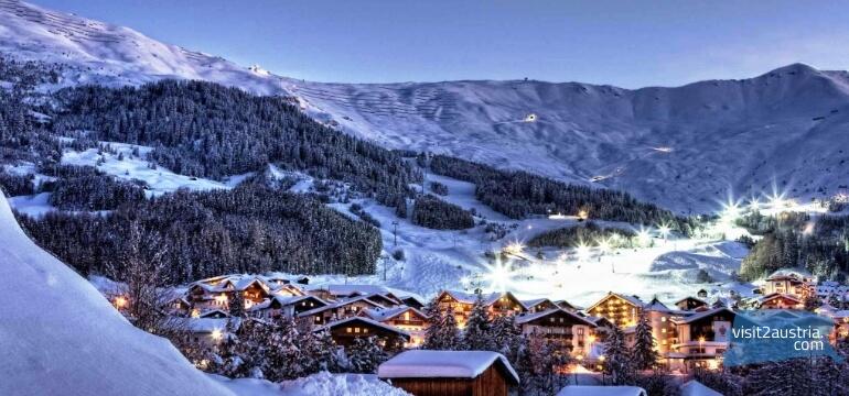 серфаус-фисс-ладис Горнолыжный курорт Австрия
