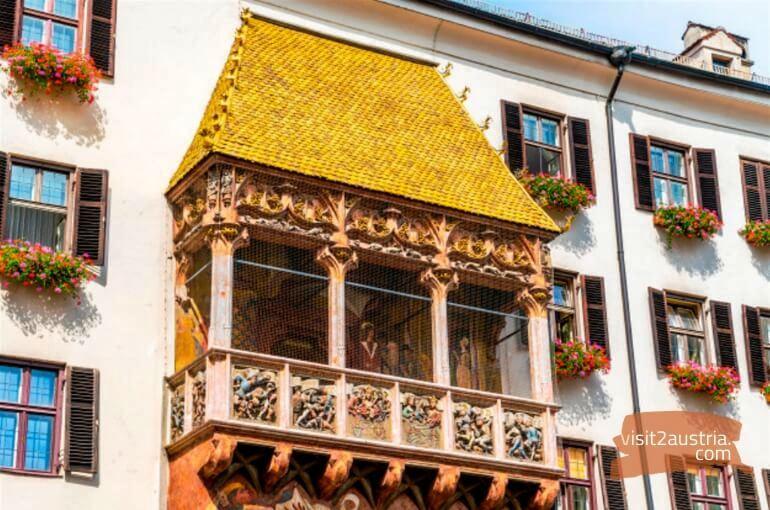Инсбрук Золотая крыша
