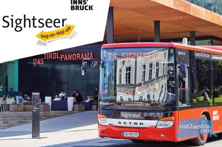 Инсбрук туристический автобус