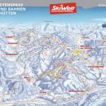 Карта спусков SkiWelt Вильдер Кайзер Бриксенталь