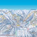 Карта (схема) трасс Циллерталь Арена