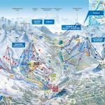 карта (схема) трасс Решенпасс-Наудерс Австрия
