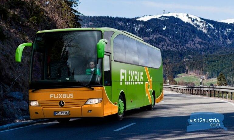 автобус в вену