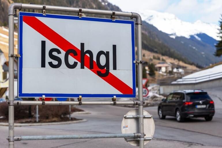 Австрия коронавирус горнолыжные курорты