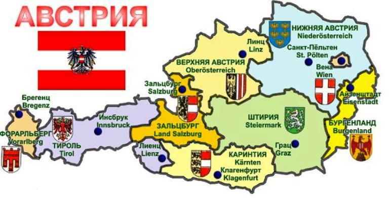 регионы Австрии