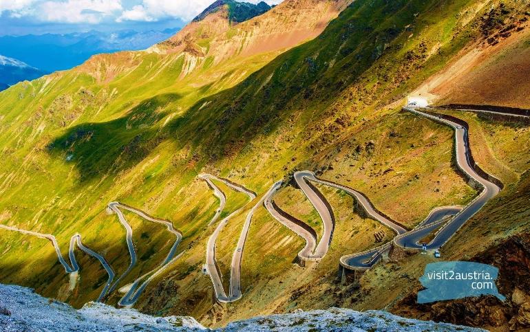 Тироль Панорамное высокогорное шоссе Тиммельсйох