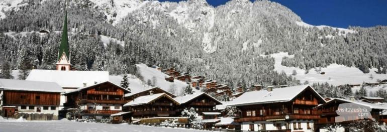 Альпбахталь горнолыжный курорт в Тироле
