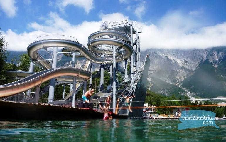 AREA 47 аквапарк в ТИроле