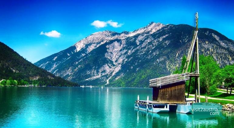 озеро ахензее в Тироле