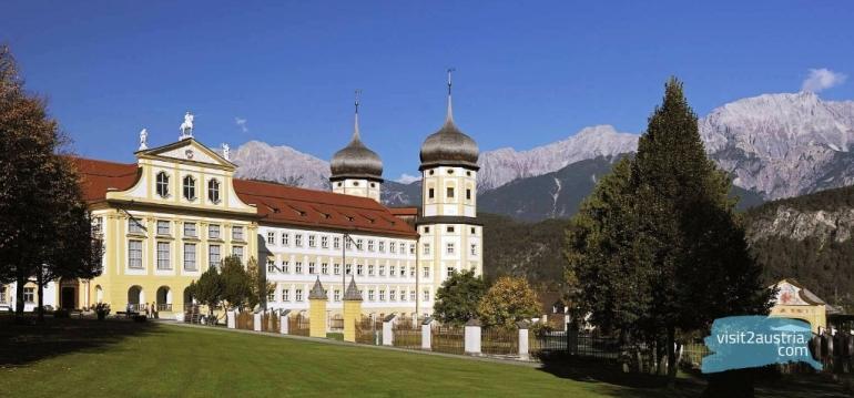 Аббатство монастырь Штамс