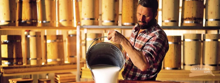 Как готовят сыр в Тироле