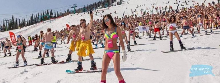 летом на лыжах в Тироле