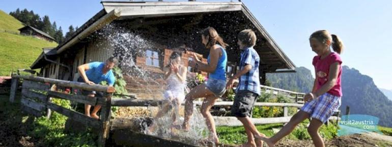 Отдых летом на ферме в Тироле