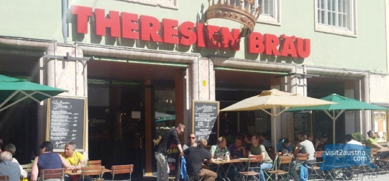Лучшая пивоварня в Инсбруке