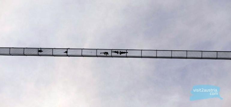 Пешеходный панорамный мост Highline 179