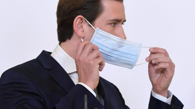 Канцлер Австрии о завершении карантина
