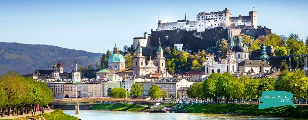 Зальцбург - столица Австрии