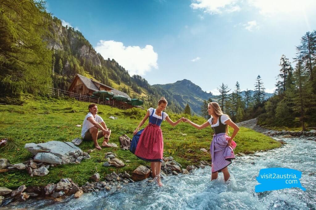 Агро туризм в зальцбурге