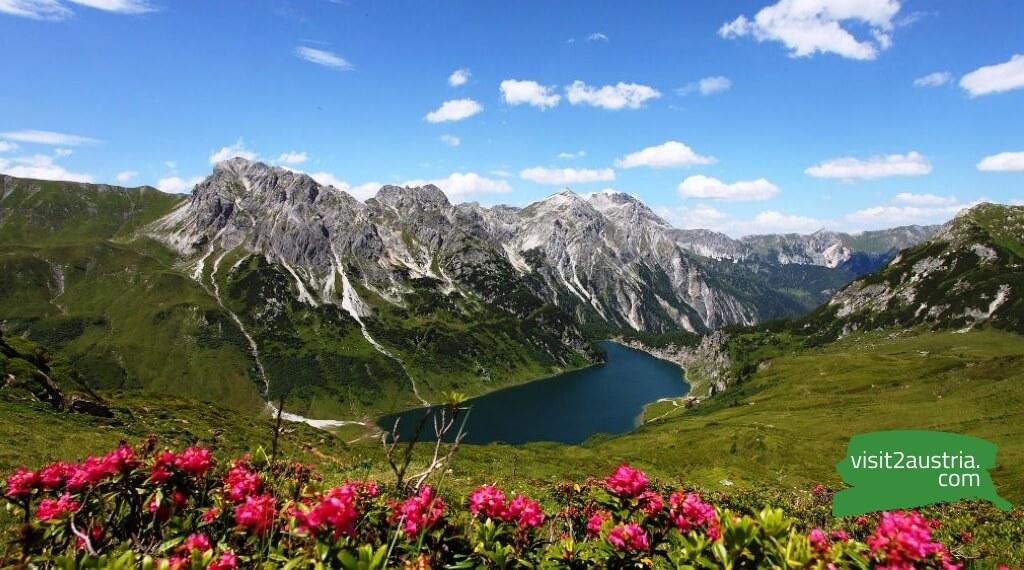 земля Зальцбург в Австрии