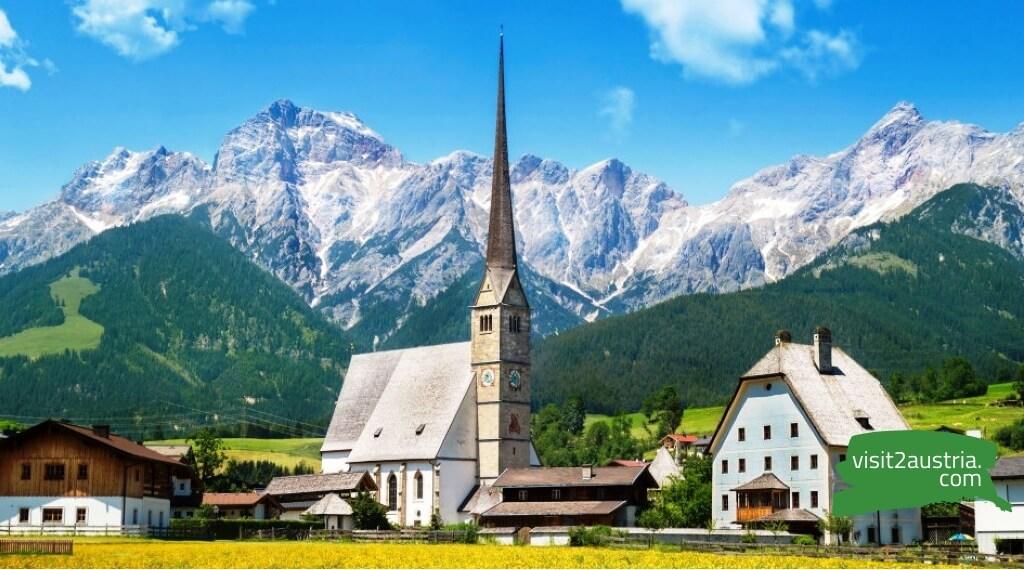 земля Зальцбург Австрия