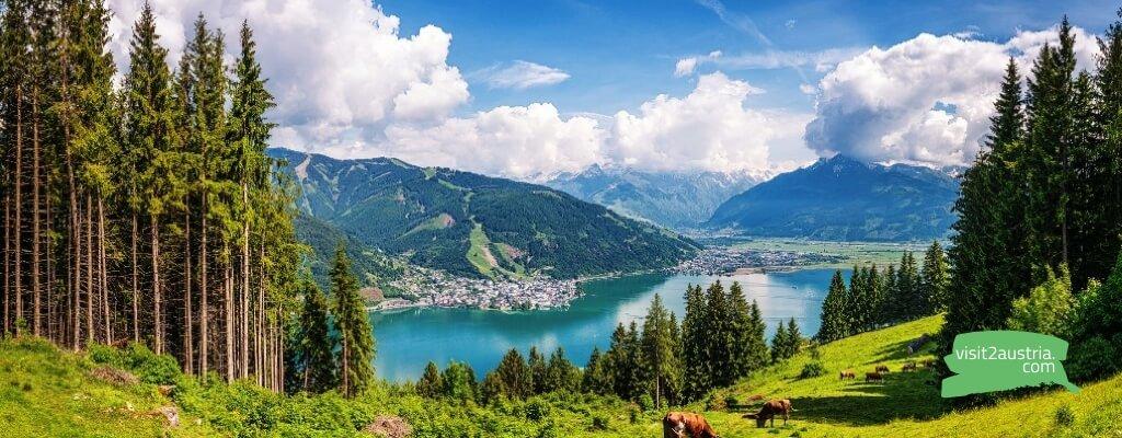 зальцбург озера и Альпы