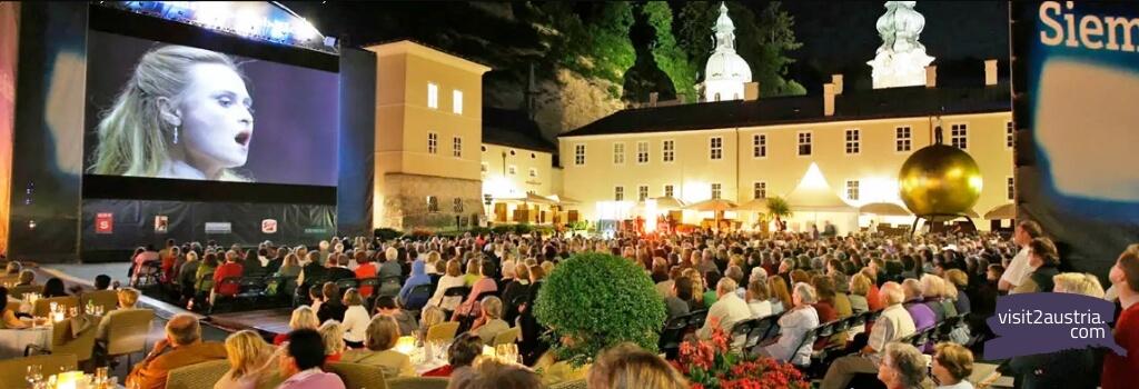 Знаменитый Зальцбургский летний фестиваль