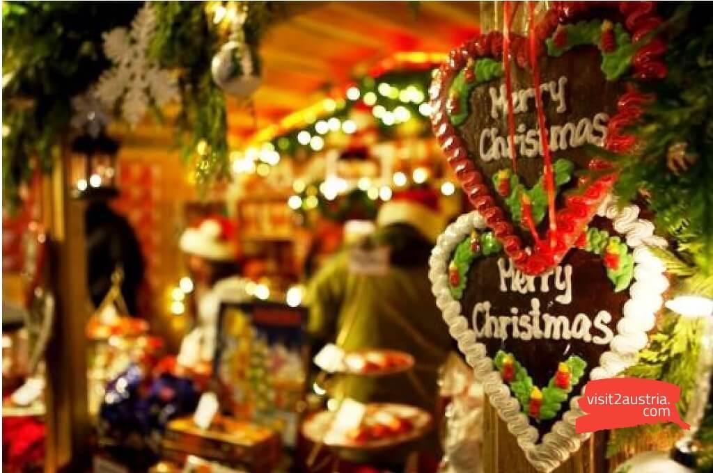 Зальцбургерланд на рождество