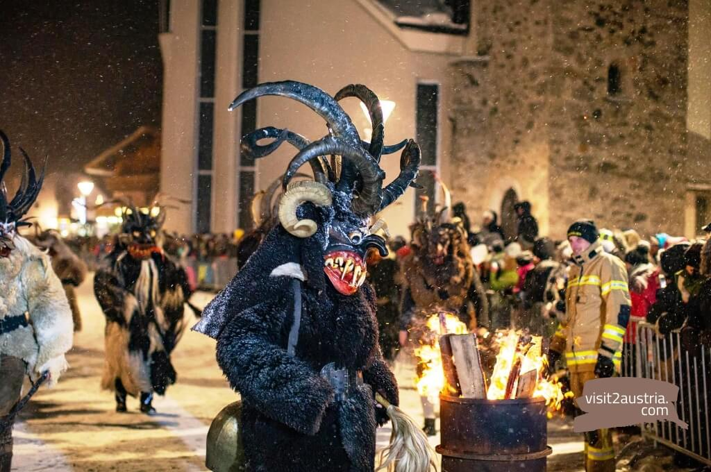 Зальцбург карнавал Перхтенлауф