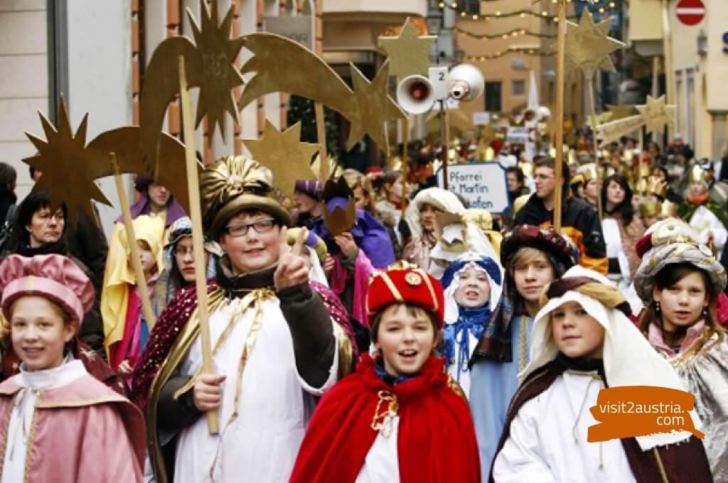 праздник Трех королей в Зальцбурге