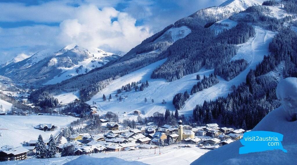 Заальбах горнолыжный курорт Зальцбурга