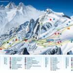 Карта спусков горнолыжного курорта Лофер (Lofer)